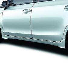 Genuine Toyota Prius+ Side Skirts (Painted Grey 1G3) 08150-47820-B2