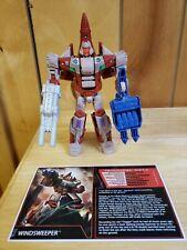 Transformers TFCC Exclusive - Combiner Wars Decepticon Windsweeper! COMPLETE!