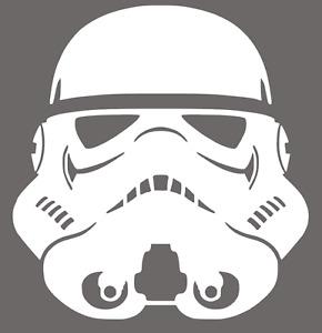 Stormtrooper Helmet Vinyl Decal Sticker