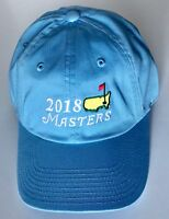 2018 Masters hat light blue caddy hat new pga augusta national golf