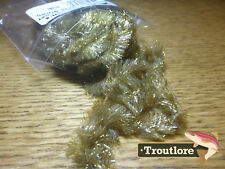OLIVE BROWN CHOCKLETTS GAMECHANGER CHENILLE NEW HARELINE FLY TYING MATERIALS