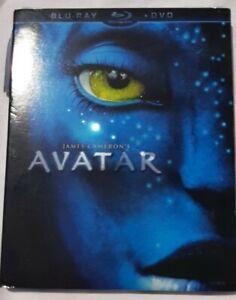 Avatar Blu-Ray + DVD w/ Slipcover Brans New Sealed (2010) James Cameron