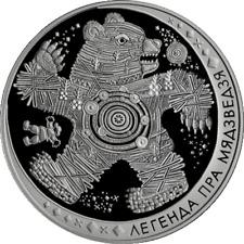 Belarus 2012, THE LEGEND OF THE BEAR. Folk Legend , 20 rubles, 1oz Silver