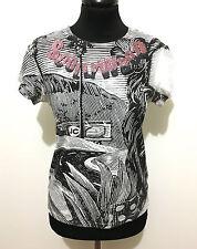 JUST CAVALLI Maglietta Donna Cotone Cotton Woman T-Shirt Sz.M - 44