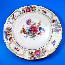 "Rich Floral Bavaria Tirschenreuth Germany Pasco Dinner Plate 10"""