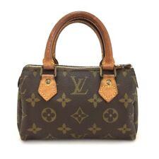 100% Authentic Louis Vuitton Monogram Mini Speedy Hand bag /10897