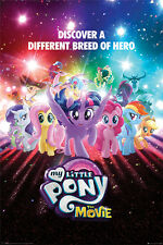 MY LITTLE PONY MOVIE A DIFFERENT BREED 91.5 X 61 CM MAXI  POSTER NEW PYRAMID