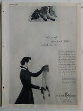 1949 Mujer Bur-Mil Camafeo Color Cued las Medias Medias Vintage Moda Anuncio