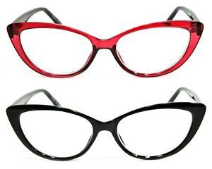 NWT Women Cat Eye Reading Glasses Scarlette Fashion Style Frame