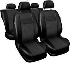 Schwarze Vorne Sitzbezüge für RENAULT CLIO bis 2004 SCHMIDT M