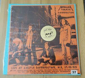 METALLICA: Thrash Donington LP Live UK 17.08.1985 Colored Vinyl Lim. #37 / 100