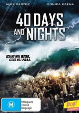 40 Days And Nights (DVD, 2013) Disaster Movie *New & Sealed* region 4