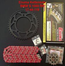 Enuma Kit de cadena BMW S 1000 RR,S1000RR,17-44-118,Kettenkit,rojo,195-076-03
