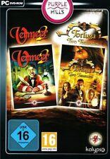 VERMEER 2 & TORTUGA TWO TREASURES - PC - DVD ROM - NEU