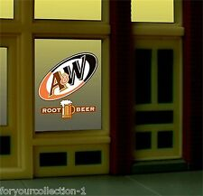 Miller's A&W Rootbeer  Animated Neon Window Sign  #6666 Miller Engineering