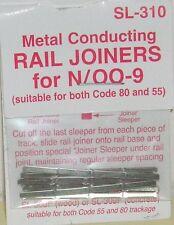 Peco N. SL-310 Rail Joiners - Metal. (N Gauge) (Model Railways)