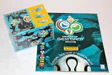 Panini WC WM GERMANY 2006 06 – DISPLAY BOX mit 100 TÜTEN 500 STICKER + ALBUM