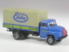 selten: Brekina MAN 520 Diesel Pritschen LKW Edeka