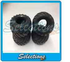 GENUINE TAMIYA LUNCHBOX / PUMPKIN SET OF 4  TYRES PART 19805213 INC BLACK EDTN