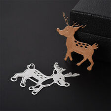 Creative Deer Animal Design Cut Die Gift Paper Card Decor Embossing Folder OH