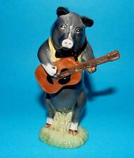 Beswick  figurine pig ' Christopher the guitar player ' PP9  1st Quality BOXED