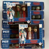 PEZ Dispensers Stranger Things Sold per pair of Mike & Eleven AND Lucas & Dustin