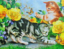 .PUZZLE..JIGSAW...ROBINSON...Kitten Play...500.Piece...Factory Sealed..