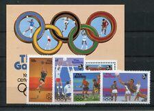 Gambia 706/09 Block 38 postfrisch / Olympiade ............................1/3762