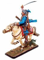 Painted Tin Toy Soldier Cossack #1 54mm 1/32