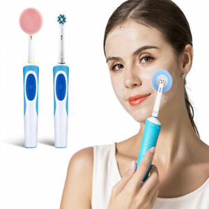 Electric Toothbrush Replacement  Facial Cleaning Brush Head Silicone Brush Head