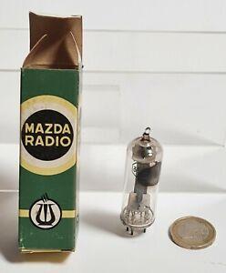 Antike Lampe Mazda Radio 35W4 XI-6 Fabrication Französische + Dose Ovp