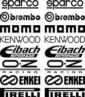 Car Door Stack Sponsor Logo Stickers,Graphics,Decals set 2