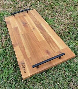 Grazing Board / Cheese Serving Board, Food Platter with Handles 600mm x 300mm