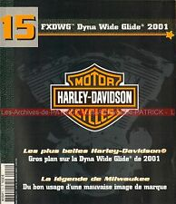 Harley davidson fxdwg 1450 dyna wide glide 2001; the image of motorcycle hd
