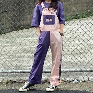 adidas Originals Womens 3-Stripes Girls Are Awesome Dungarees