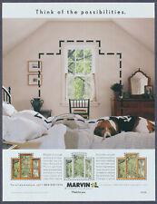 Resting Beagle on the Bed Marvin Windows Vintage Magazine Print Ad 2001