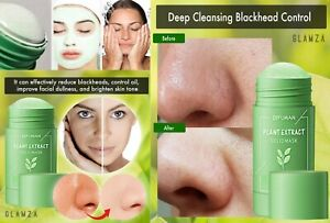 Green Tea Face Mask Facial Cleansing Blackhead Acne Skin Exfoliating Clay Peel