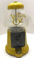 VTG Wizard of Oz Gumball Machine-Warner Brothers 1998 (Glass Globe Metal Shell)