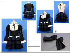 Fairy Tail Erza Scarlet Lolita Dress Cosplay Costume UK