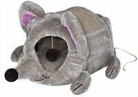 Trixie Kuschelhöhle Lukas für Katzen, 35 × 33 × 65 cm, grau/taupe