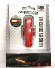 CatEye Rapid X2 Kinetic Brake Activated Bicycle Tail Light New