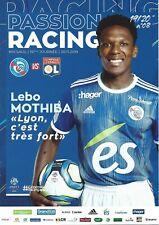 Programme heft book RC Strasbourg Racing OL Lyon Olympique L1 19.20 no ticket