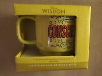 Disney Wisdom Mug Pinocchio Jiminy Cricket July Limited Release