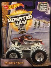 Hot Wheels Monster Jam Holiday Monster Mutt 1:64 Monster Truck New 2017
