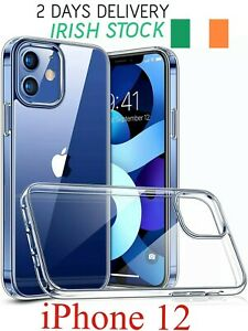 iPhone 12 Case - Mini, Pro, Pro Max - Shockproof Thin Clear Silicone Cover Gel