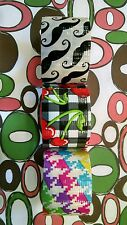 "Duck Duct Tape Rainbow Mustache Cherr Decorative Craft 1.50"" x 5 Yard 3m Scotch"
