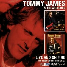 Tommy James - Live & on Fire (+DVD) [New CD] NTSC Format, UK - Import