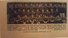 Canisius College Golden Griffins & Long Island University 1929 Football Team