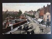 Kent TUNBRIDGE WELLS RAILWAY STATION Mount Pleasant c1907 by Valentine 57678