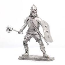 "Tin toy soldier ""Greek warrior (Thebes), 12 c. BC"" metal sculpture (54mm) #Z41"